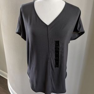 NWT-Banana Republic-charcoal gray t-shirt